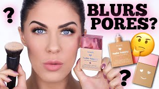 Download NEW BENEFIT HELLO HAPPY SOFT BLUR FOUNDATION?? DOES IT ACTUALLY WORK??? Video