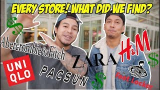 Download BREAKING DOWN EVERY STORE IN THE MALL! WHAT'D WE BUY?! Video