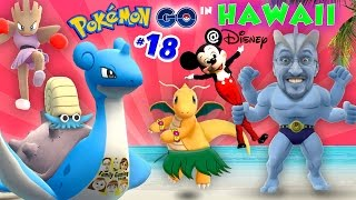Download POKEMON GO in HAWAII @ DISNEY! COMPLETING POKEDEX w/ Mickey Mouse! A Magical Place (FGTEEV Part 18) Video