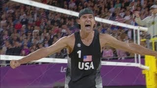 Download Men's Beach Volleyball Round of 16 - RUS v USA | London 2012 Olympics Video