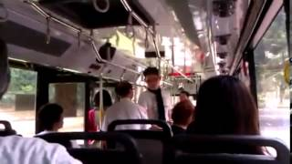 Download Ugly Singaporean - Push Old Lady of SMRT Bus Video