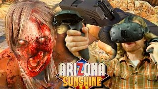 Download VR ZOMBIE Co-op - The Search for Hot Lucy - Arizona Sunshine Video
