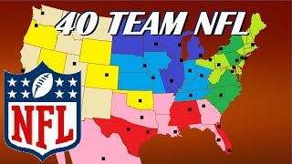 Download 40 Team NFL Expansion and Realignment Proposal Video