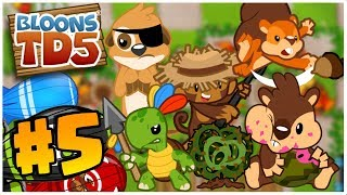 Download CAN ALL AGENTS WIN?! | Bloons Tower Defense | BTD 5 Gameplay Part 5 Video