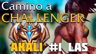 Download LLEGARE A CHALLENGER ANTES DE FIN DE TEMPORADA? - AKALI #1 LAS EN DIRECTO! Video