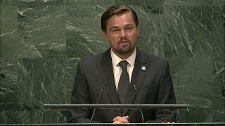 Download Leonardo DiCaprio (UN Messenger of Peace) at International Day of Peace 2016 - Student Observance Video