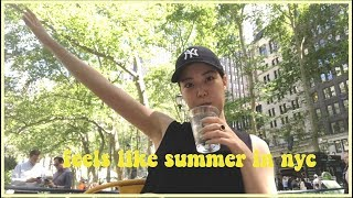 Download Life in NYC | Summer vibes in the city, yoga, fitness slump, try on clothing haul Video