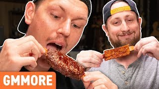 Download Vegan BBQ Ribs Taste Test Video