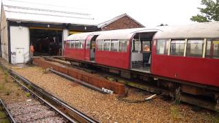 Download Shunting Failed 1938 Underground Train, Ryde St Johns Road Station, Isle Wight Railway May 2014 Video