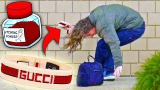 Download GUCCI HEADBAND BAIT PRANK!! Video