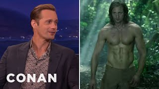 Download Alexander Skarsgard's Insane Diet To Get Jacked As Tarzan - CONAN on TBS Video