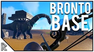Download BRONTO BASE RAID! - Ark Survival Evolved Thieves Island PVP S2#11 Video