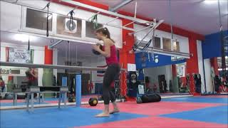 Download Woman Functional Training Instructor Workout Video