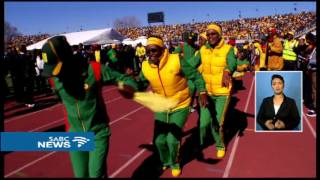Download Tom Thabane sworn in as Lesotho's New Prime Minister Video