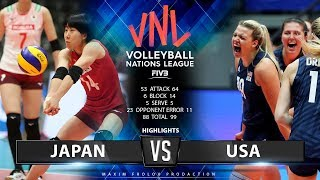 Download Japan vs. USA   Highlights   Women's VNL 2019 Video