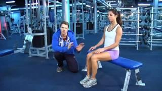 Download Beginner women's fitness program Video