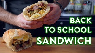 Download Binging with Babish: Hors D'oeuvres Sandwich from Back to School Video