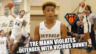 Download Tre Mann VIOLATES Defender on His Way to a 35-Piece!! | Baby Steph with Bounce?? Video