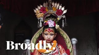 Download Life of a Kumari Goddess: The Young Girls Whose Feet Never Touch Ground Video