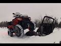 Download Snow Rip on the Sportsman 570 Video
