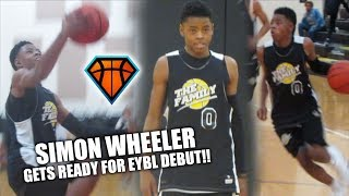 Download 5'8 Simon Wheeler GETS READY FOR EYBL DEBUT!! | 2021 Point Guard GETS BUSY Video