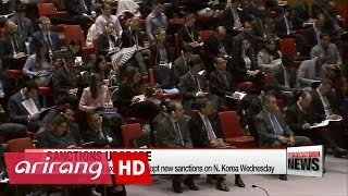 Download UN Security Council expected to adopt new sanctions on N. Korea Wednesday Video