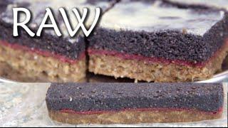 Download Makový řez - RAW recept - 2. díl maková náplň Video