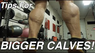 Download Calves: Why Mine Are Growing & Yours Are Not! MUSCLE GAIN TIPS! Video