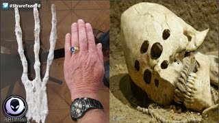 Download Creepy ″Alien Remains″ Found In Isolated Cave? 1/8/17 Video