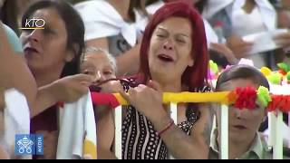 Download Visite du pape François à la prison pour femmes de Santiago Video
