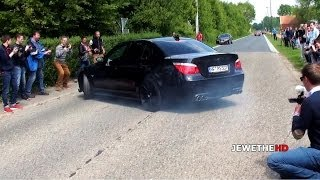 Download BMW M5 E60 NEARLY HITS THE CROWD! & LOUD Sounds! Video