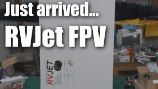 Download Range Video Jet (RVJet) FPV flying wing Video