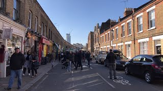 Download Columbia Road Flower Market Sunday Live from London Video