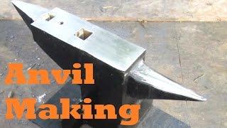 Download BLACKSMITHING Making an Anvil Video
