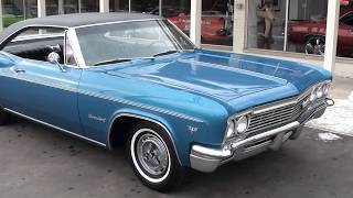 Download 1966 Chevrolet Impala SS $25,900.00 Video
