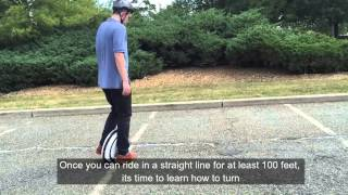 Download Learning How To Ride The Ninebot One Electric Unicycle Video