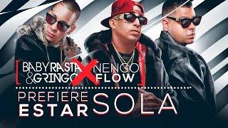 Download Baby Rasta y Gringo Feat Nengo Flow - Prefiere Estar Sola [Cover Audio] Video