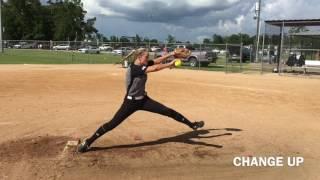 Download Shaelyn Sanders c/o 2020 Pitcher/Shortstop Softball Skills Video Video