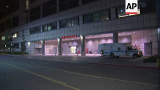 Download Exteriors of hospital where Kanye West was sent Video