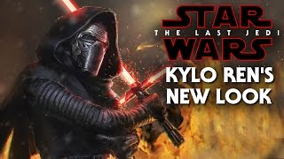 Download Star Wars The Last Jedi Kylo Ren's New Look Revealed! Full Scar Video