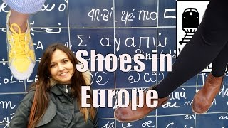 Download What Shoes to Take to Europe - 5 Rules for the Right Shoes Video