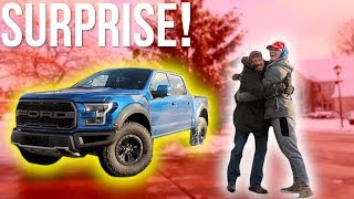Download I BOUGHT MY DAD HIS DREAM TRUCK FOR CHRISTMAS! **emotional** Video