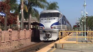 Download Amtrak Surfliner and Coaster Trains, San Diego, Amazing K5LA action, 5/13/17 Video