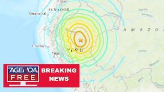 Download 8.0 Earthquake Hits Peru - LIVE BREAKING NEWS COVERAGE Video