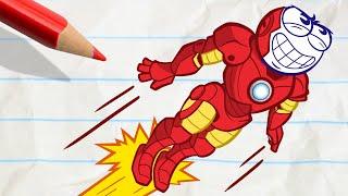 Download Pencilmate's Crazy Transformation - Pencilmation Cartoons for Kids Video