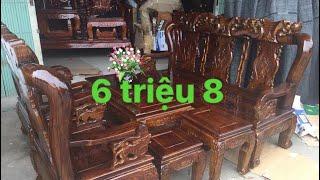 Download Bộ bàn ghế rẻ tiền - 08 3333 9995 | Đồ gỗ Siêu Quần Video