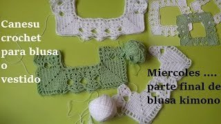 Download Canesu crochet para blusa o vestido niñas Video