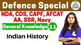 Download 4:00 PM - Defence Special General Knowledge by Shipra Ma'am |Day #11| Indian History Video