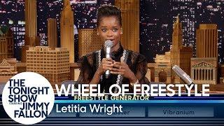 Download Wheel of Freestyle with Black Panther's Letitia Wright Video