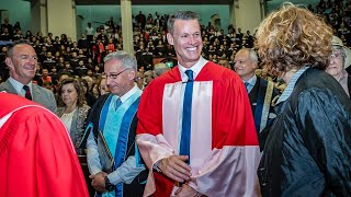 Download Mark Tewksbury, convocation 2019 honorary degree recipient Video